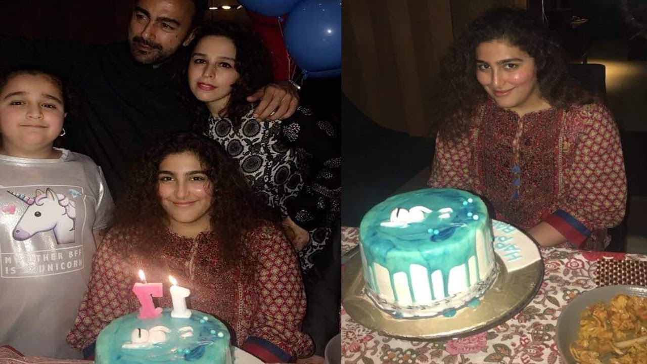 Pakistani Actor Shan Shahid Latest Images with Family (8)