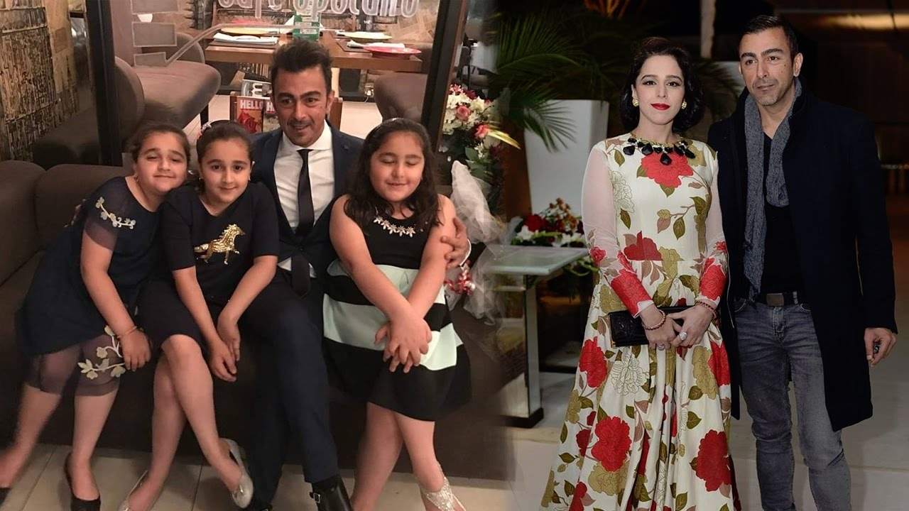 Pakistani Actor Shan Shahid Latest Images with Family (9)