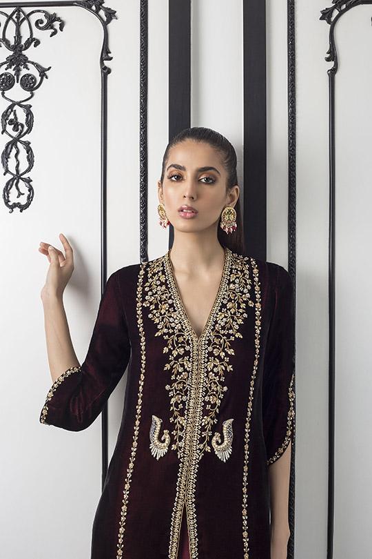 Sania Maskatiya Luxury Embroidered Dresses Collection Inara 2019 (11)