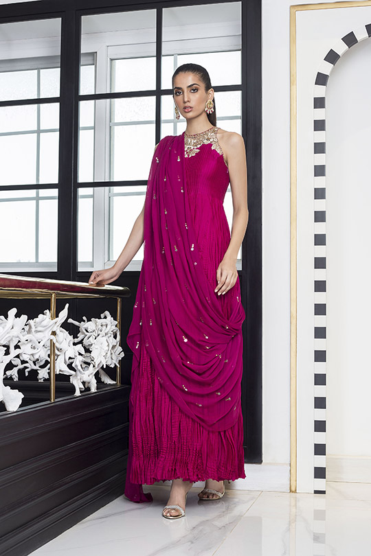 Sania Maskatiya Luxury Embroidered Dresses Collection Inara 2019 (12)