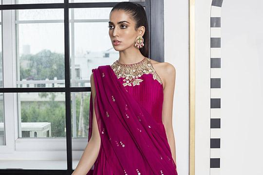 Sania Maskatiya Luxury Embroidered Dresses Collection Inara 2019 (13)