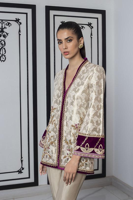 Sania Maskatiya Luxury Embroidered Dresses Collection Inara 2019 (15)