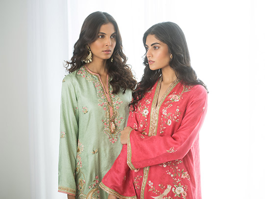 Sania Maskatiya Luxury Embroidered Dresses Collection Inara 2019 (16)