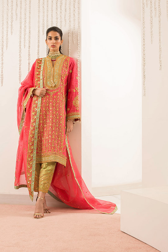 Sania Maskatiya Luxury Embroidered Dresses Collection Inara 2019 (2)