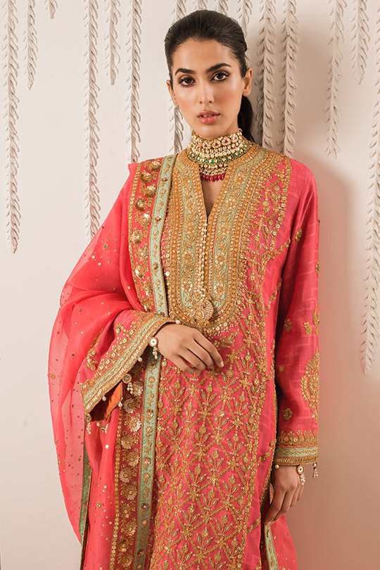 Sania Maskatiya Luxury Embroidered Dresses Collection Inara 2019 (3)