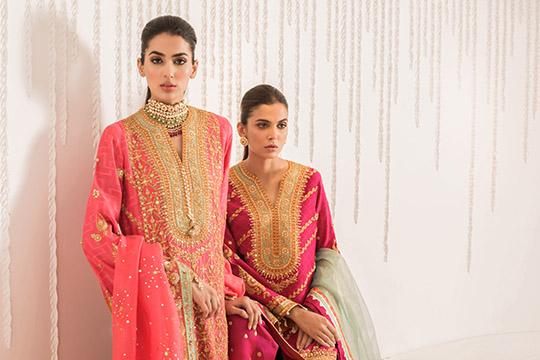 Sania Maskatiya Luxury Embroidered Dresses Collection Inara 2019 (5)