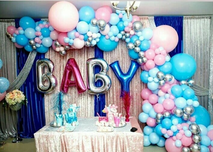 Sham Idress and Sehar Baby Shower Event Images (12)