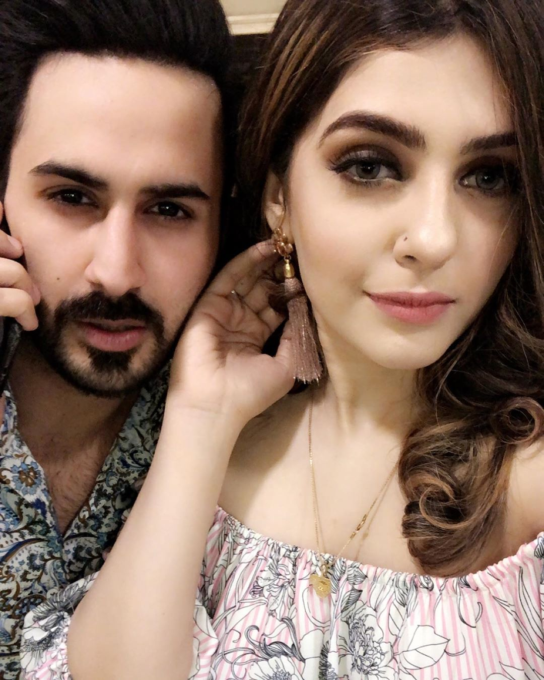 Shan Baig Pakistani Actor Images with Wife Michelle Shan (8)