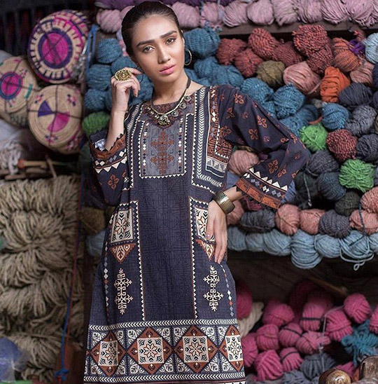 Winter Casual Pret Wear Collection 2019 By Zeen (6)