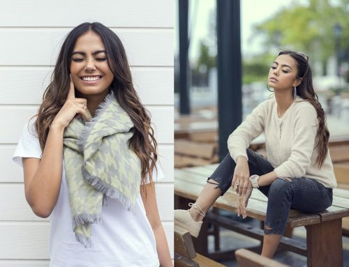 Women's Sweaters and Scarves Pret Ideas For Winter 2019