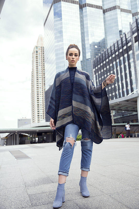 Women's Sweaters and Scarves Pret Ideas For Winter 2019 (5)