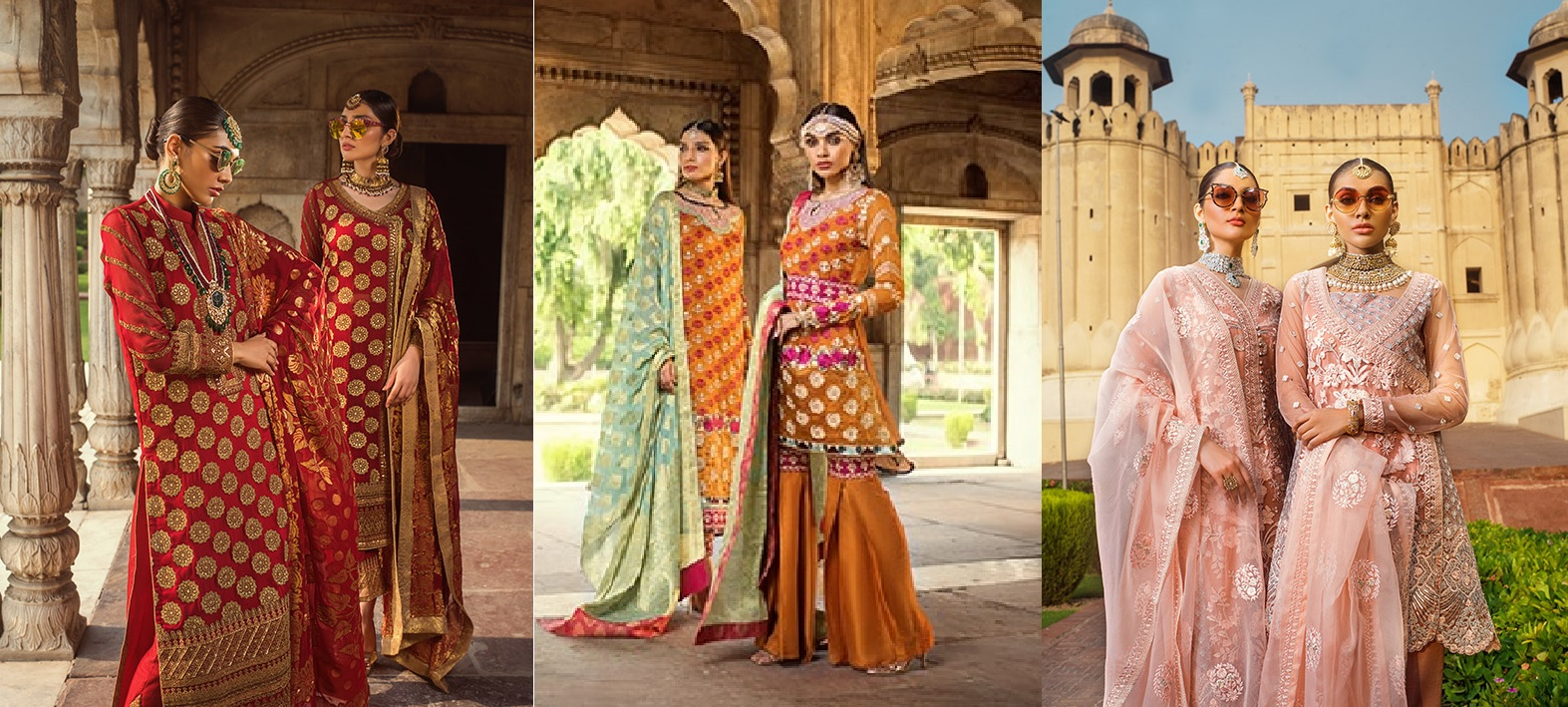 Zainab Chottani Embroidered Jamdani Collection 2019 (1)