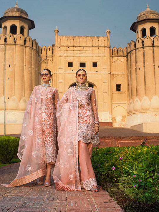 Zainab Chottani Embroidered Jamdani Collection 2019 (15)
