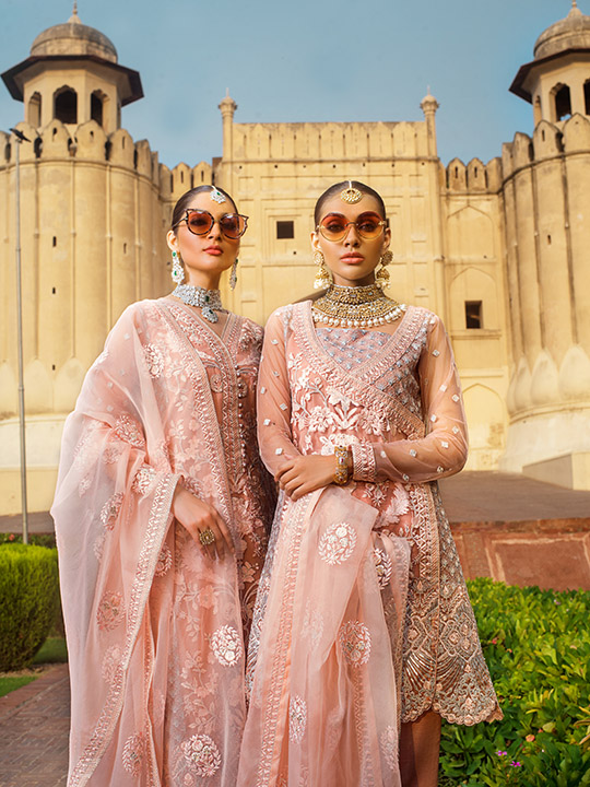 Zainab Chottani Embroidered Jamdani Collection 2019 (16)