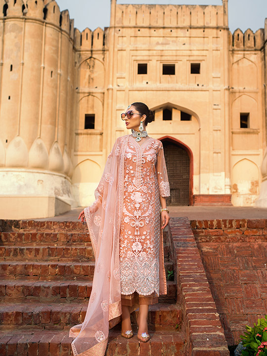 Zainab Chottani Embroidered Jamdani Collection 2019 (17)