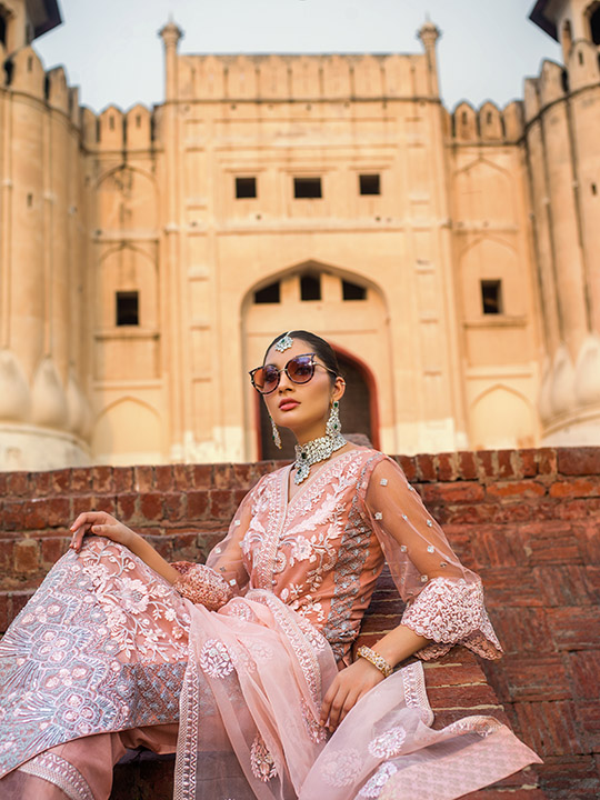 Zainab Chottani Embroidered Jamdani Collection 2019 (18)