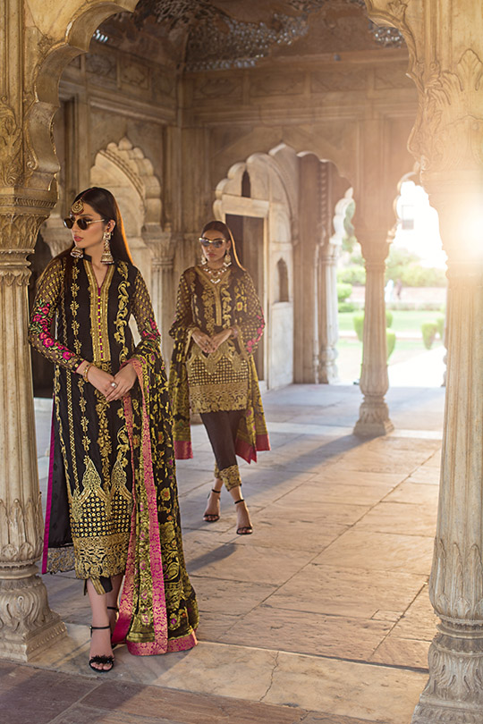 Zainab Chottani Embroidered Jamdani Collection 2019 (2)