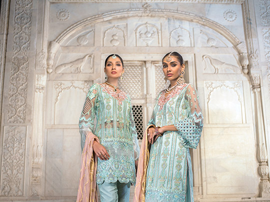 Zainab Chottani Embroidered Jamdani Collection 2019 (20)