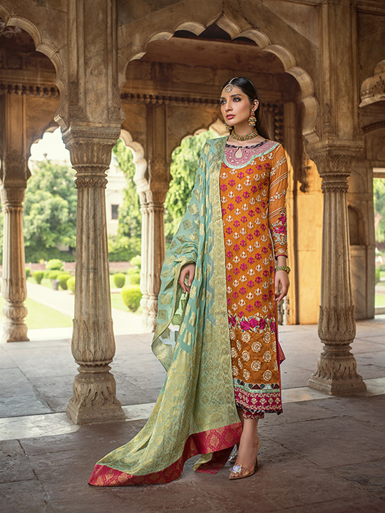 Zainab Chottani Embroidered Jamdani Collection 2019 (8)