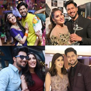Actress Mehwish Hayat Images With Brother Danish Hayat (8)