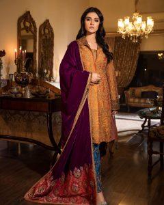 Actress Sarah Khan New Pictures for Nilofar Shahid (10)
