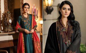 Actress Sarah Khan New Pictures for Nilofar Shahid (2)