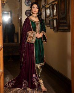 Actress Sarah Khan New Pictures for Nilofar Shahid (9)
