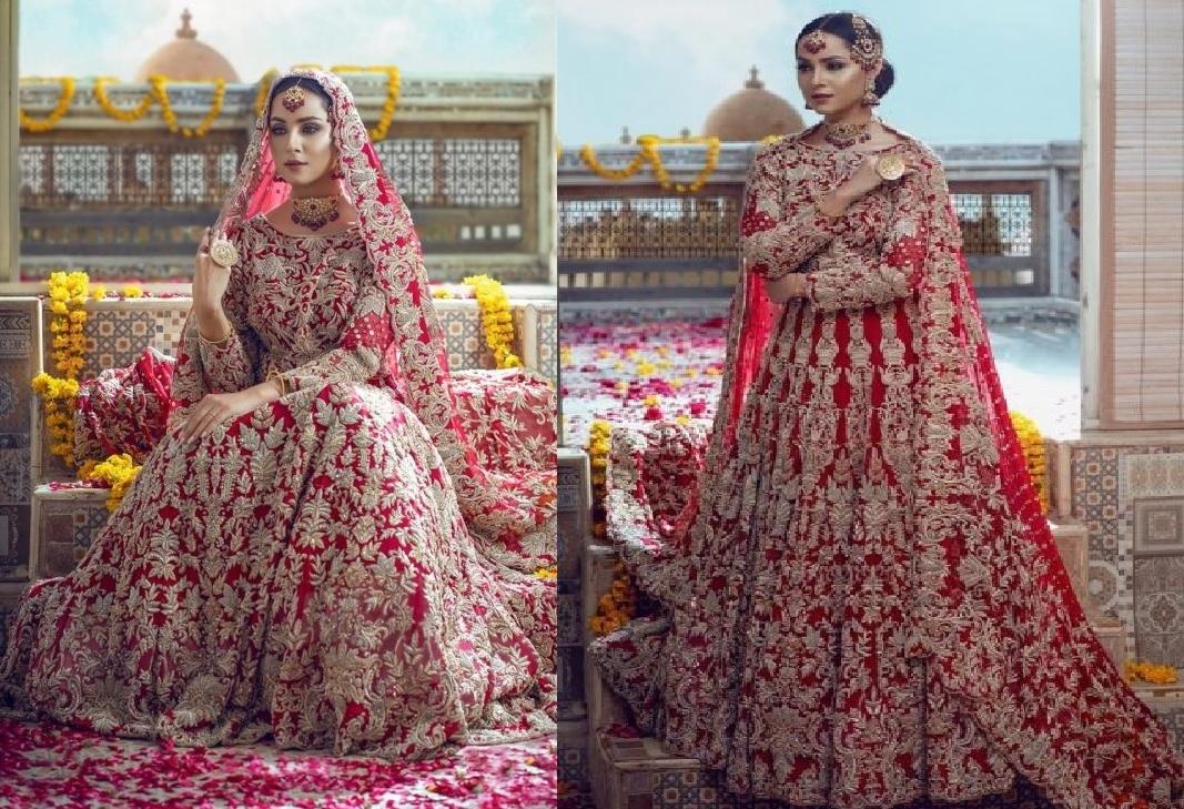 Anamta Couture Latest Bridal Photo Shoot of Actress Nimra Khan (1)