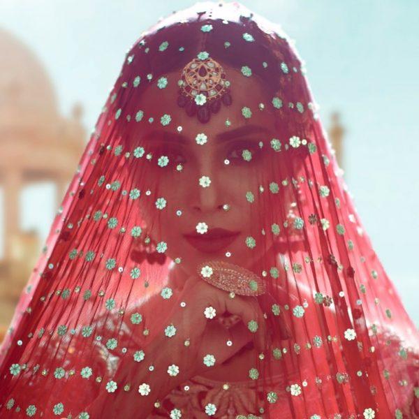 Anamta Couture Latest Bridal Photo Shoot of Actress Nimra Khan (4)