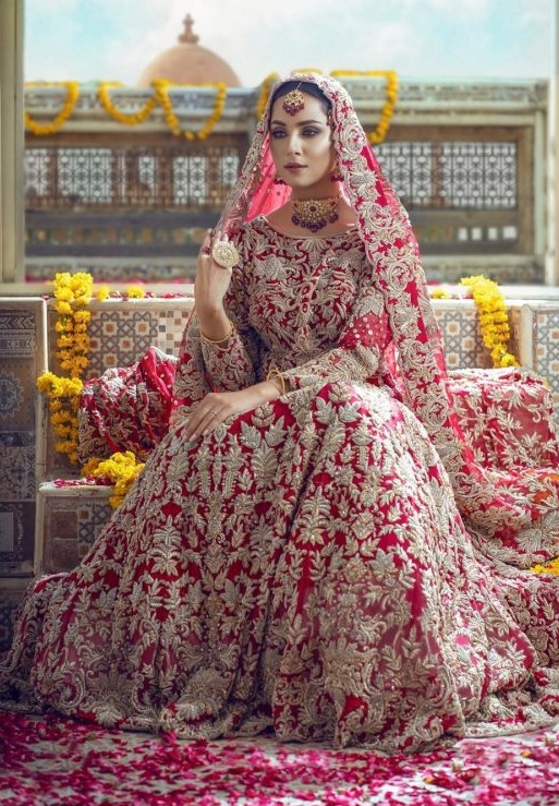 Anamta Couture Latest Bridal Photo Shoot of Actress Nimra Khan (6)