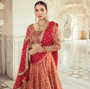 Bridal Fromal Wedding Wear Collection 2019-20 By Tena Durrani (3)
