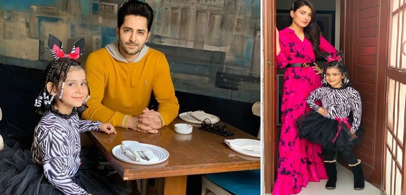 Danish Taimoor & Ayeza Khan Daughter Hoorain Pictures (1)