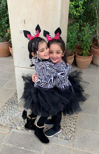 Danish Taimoor & Ayeza Khan Daughter Hoorain Pictures (5)