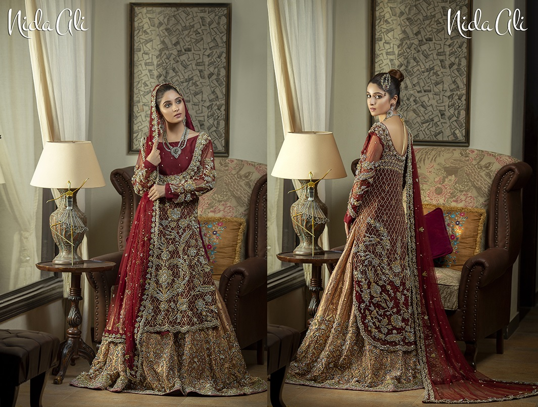 Dreamy Bridals Wear Collection 2019 By Nida Ali (1)