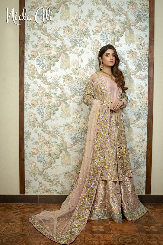 Dreamy Bridals Wear Collection 2019 By Nida Ali (12)