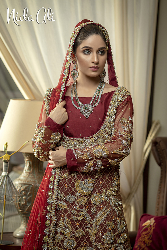 Dreamy Bridals Wear Collection 2019 By Nida Ali (2)