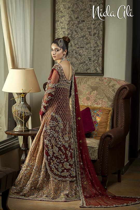 Dreamy Bridals Wear Collection 2019 By Nida Ali (21)