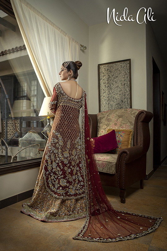 Dreamy Bridals Wear Collection 2019 By Nida Ali (23)