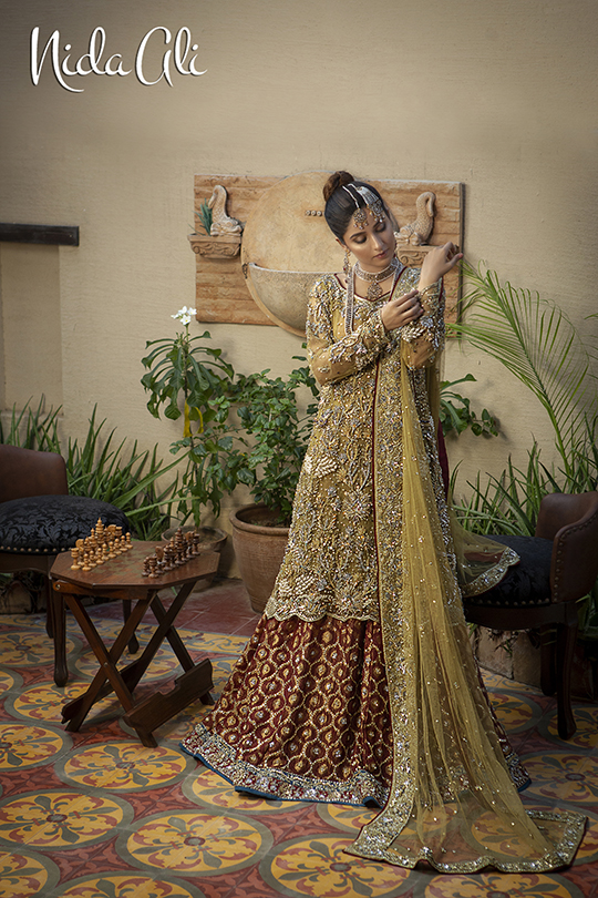 Dreamy Bridals Wear Collection 2019 By Nida Ali (3)