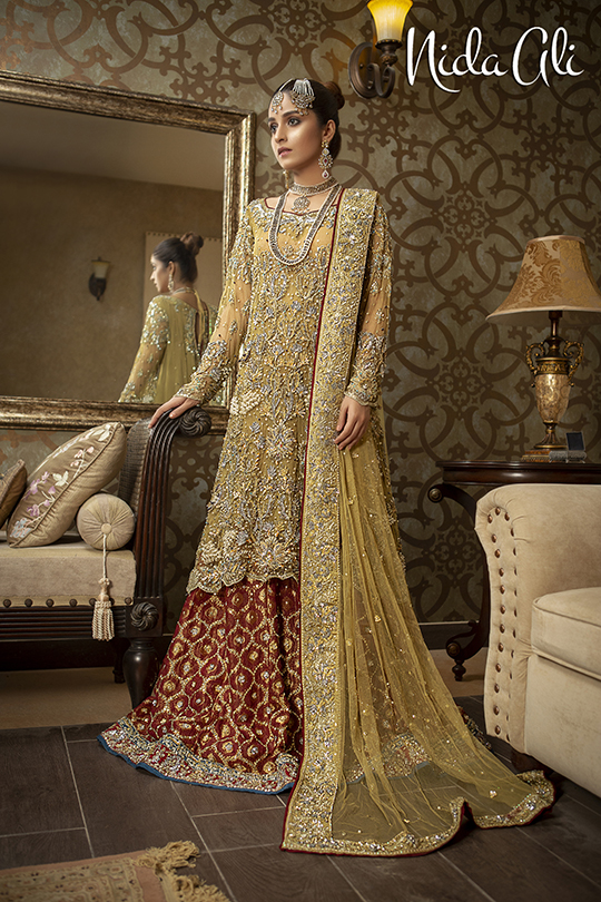 Dreamy Bridals Wear Collection 2019 By Nida Ali (5)