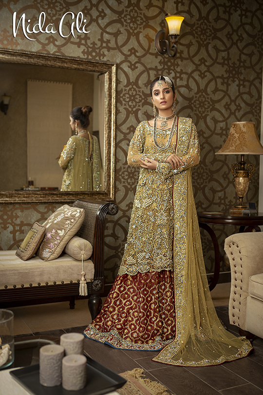 Dreamy Bridals Wear Collection 2019 By Nida Ali (6)