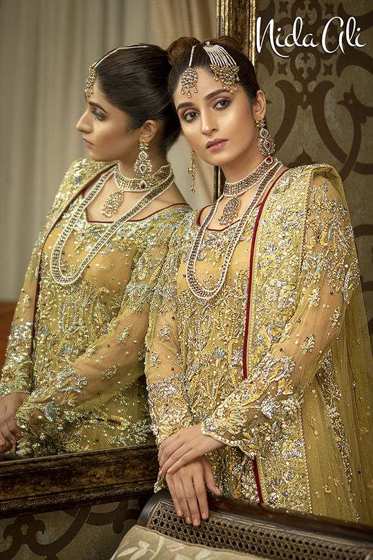 Dreamy Bridals Wear Collection 2019 By Nida Ali (7)