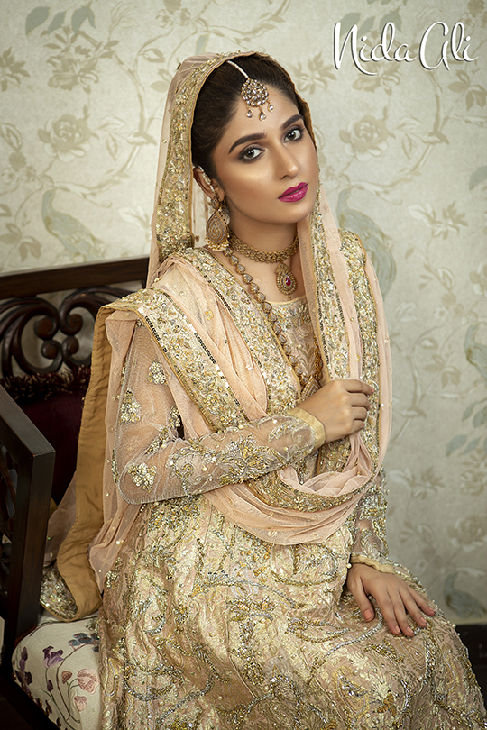Dreamy Bridals Wear Collection 2019 By Nida Ali (8)
