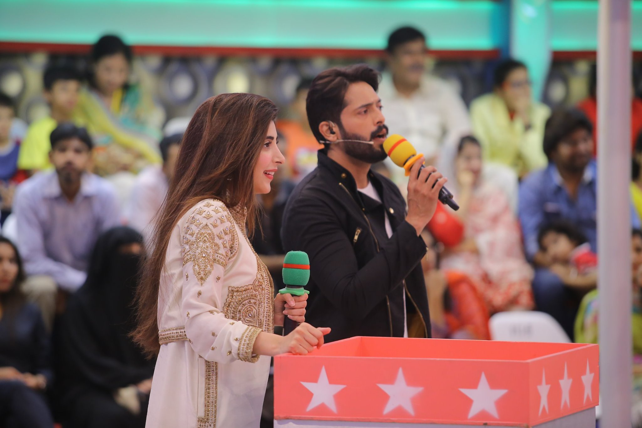 Famous Celebrities Spotted at Jeeto Pakistan Gyara Gyara 11-11 Special Show (1)