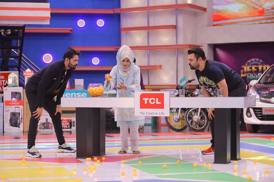 Famous Celebrities Spotted at Jeeto Pakistan Gyara Gyara 11-11 Special Show (11)