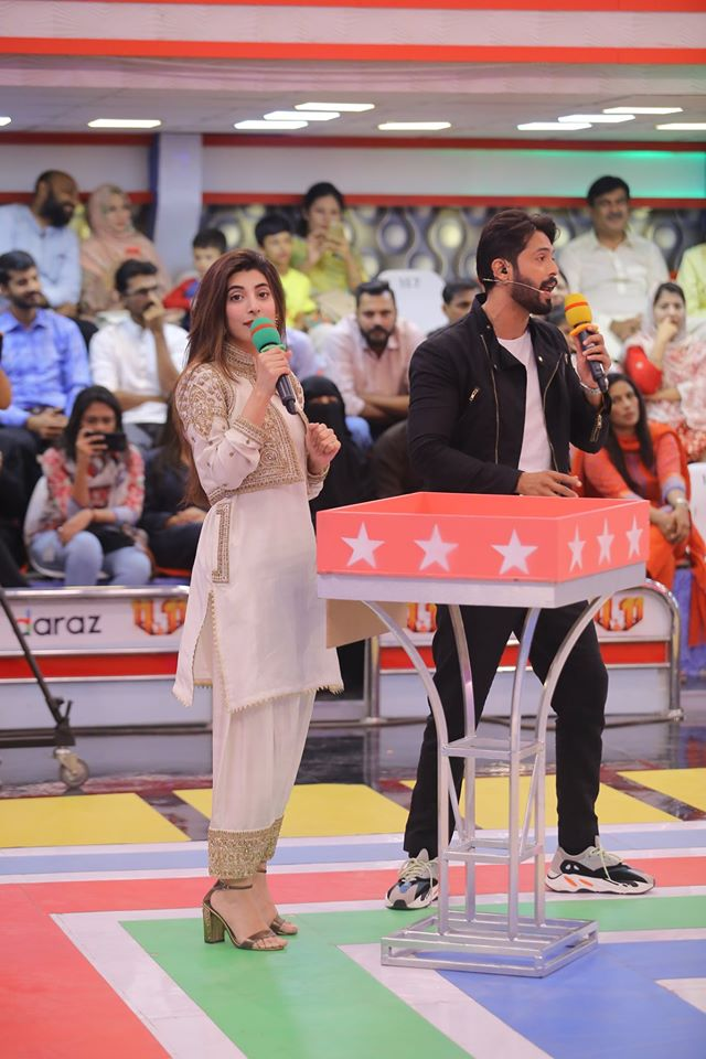 Famous Celebrities Spotted at Jeeto Pakistan Gyara Gyara 11-11 Special Show (16)
