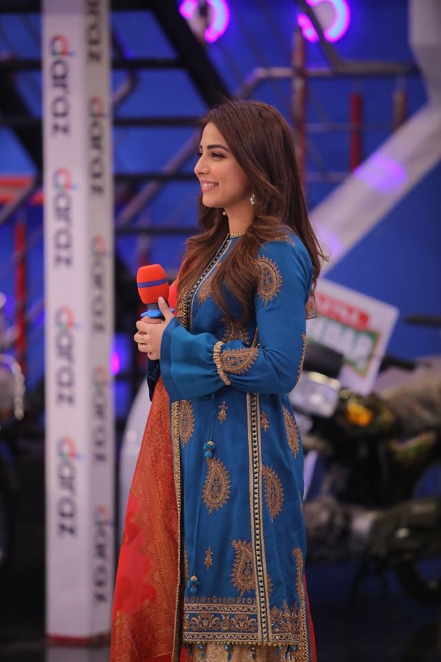 Famous Celebrities Spotted at Jeeto Pakistan Gyara Gyara 11-11 Special Show (17)