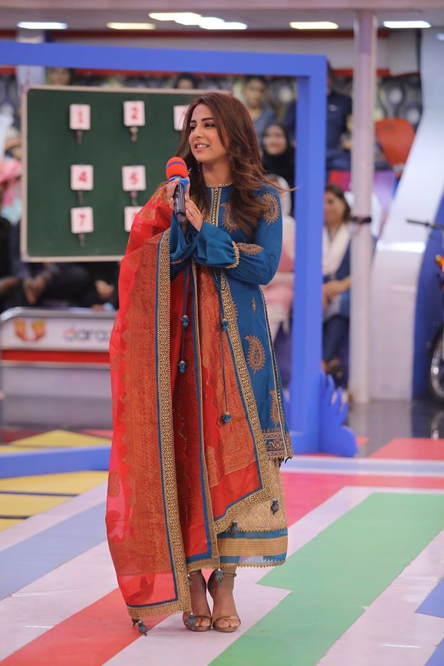 Famous Celebrities Spotted at Jeeto Pakistan Gyara Gyara 11-11 Special Show (18)
