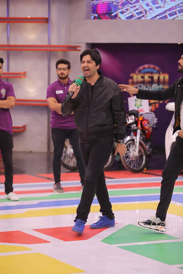 Famous Celebrities Spotted at Jeeto Pakistan Gyara Gyara 11-11 Special Show (2)