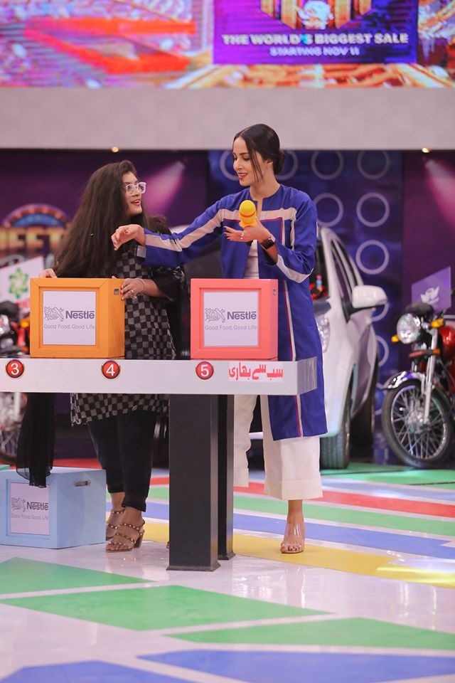 Famous Celebrities Spotted at Jeeto Pakistan Gyara Gyara 11-11 Special Show (4)
